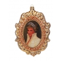 Diana, Princess of Wales christmas ornament, 10cm 4 inch