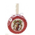 Christmas ornament, cloth