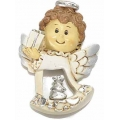 Christmas decoration, angel, resin