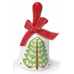 Christmas bell tree, ceramic