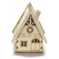 Christmas decoraction, wooden house