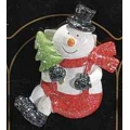 Christmas decoration, snowman, resin