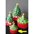 koekdoes keramisch, kleine kerstboom