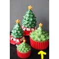 koekdoos, keramisch grote kerstboom
