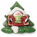 Christmas decoration, ceramic