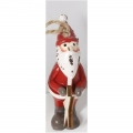 Christmas ornament, Santa 7,5cm
