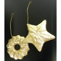 Christmas ornament, gold
