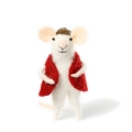 christmas mice from felt