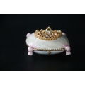 Pill Box pillow with diadem